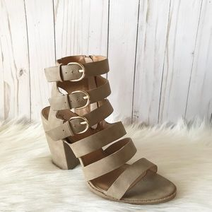 Strappy Ankle Booties